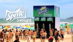 Sprite-shower