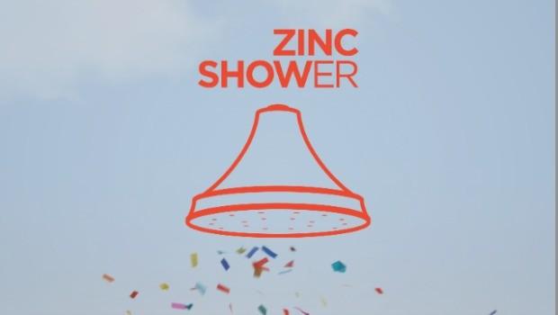 zinc-shower
