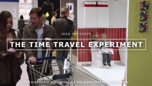 IKEA-time-travel-experiment