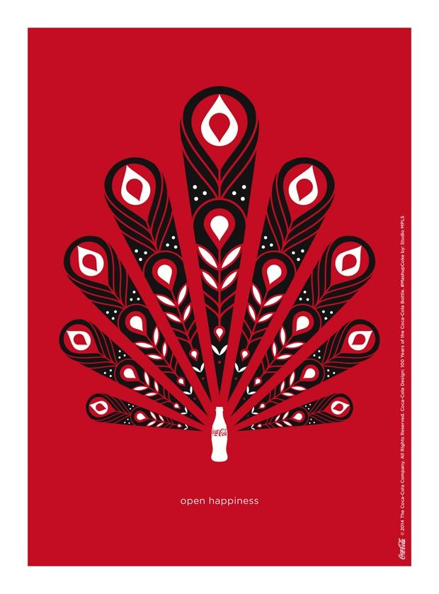 Artistas homenajean los 100 años de la botella de Coca-Cola