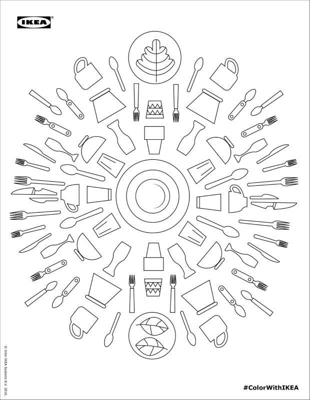 Cool-ad: IKEA lanza un libro de colorear para adultos #ColorWithIKEA