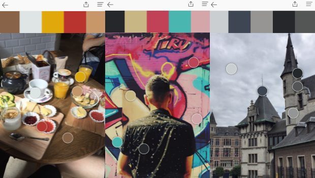 Una app para capturar colores Pantone en la vida real