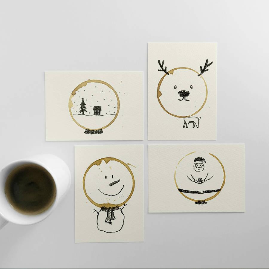 postales-navidad-cafe