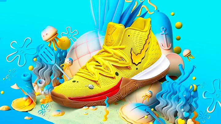 Horno Fértil sufrimiento  Nike presenta una colección de zapatillas inspiradas en Bob Esponja - La  Criatura Creativa